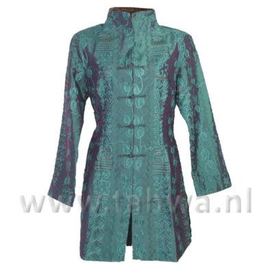 Chinese Lange Jas Turquoise  'Phoenix'