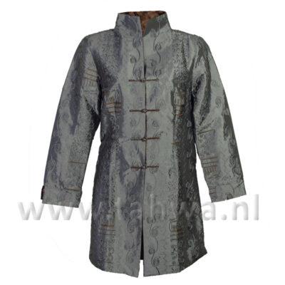 Chinese Long Jacket Silver \\'Phoenix\\'